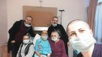BÜLENT ECEVİT ÜNİVERSİTESİ - (Özel) Kanser Hastası Babaya Destek İçin Bütün Aile Saçlarını Kazıttı