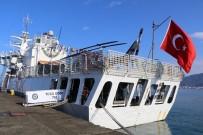 DEMIRLI - Rize'ye Sahil Güvenlik Komutanlığı'na Bağlı ' TCSG DOST' Arama Kurtarma Gemisi Demir Attı
