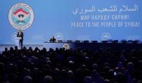 MUHALİFLER - Soçi'de Suriyeli Muhaliflerden Lavrov'un Konuşmasına Müdahale
