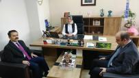 İLKAY - Vali Aktaş, Diş Hastanesi Başhekimi Akün'ü Ziyaret Etti