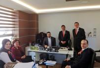 ERKMEN - Açık Kapı Projesi Yetkilileri TREDAŞ'la Bir Araya Geldi