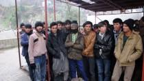 Artvin'de 103 Yabancı Uyruklu Yakalandı