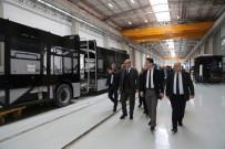 KARAOĞLAN - ATO Başkanı Baran, Türkiye'nin İlk İhraç Edilecek Metro Araçlarını İnceledi