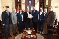 MURAT AYDıN - Bakşan Karabacak, KASKF Yönetimini Ağırladı