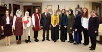 KADINA YÖNELİK ŞİDDETLE MÜCADELE - Başkan Karaosmanoğlu, KADEM Üyelerini Ağırladı