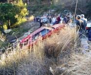 GİZLİ BUZLANMA - Bozdoğan'da Trafik Kazası; 5 Yaralı