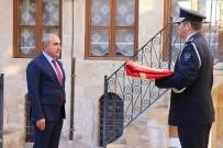 Çanakkale'de Destan Yazan 57'Nci Alay'ın Sancağı Afrin'deki Mehmetçiğe Teslim Edildi