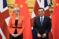 THERESA MAY - Çin Ve İngiltere Başbakanları İkili Ticareti Görüştü