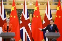 THERESA MAY - Çin Ve İngiltere İkili Ticareti Görüştü