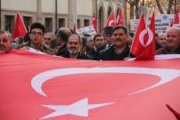 KAMU ÇALIŞANLARI - Çorum'da 'Afrine Destek-Kızıl Elma' Yürüyüşü