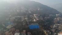 TOPRAK KAYMASI - Heyelan Bölgesi Drone İle Görüntülendi