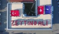 EDIRNEKAPı - İnsan Zinciri Oluşturan Zabıtalar ' Zeytin Dalı' Yazdı