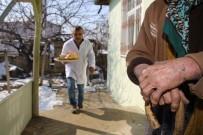 ERTUĞRUL ÇALIŞKAN - Karaman'da Belediye Muhtaç 60 Aileye Günlük Sıcak Yemek Veriyor