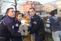 SOLAKLAR - Kazaya Müdahale Eden Polis Ekiplerine Midibüs Çarptı Açıklaması 3 Polis Yaralı