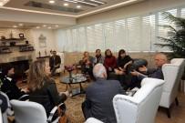 KADIN SIĞINMA - Kent Konseyi Başkanı Çınar Ve Kadın Meclisi Başkanı Sucu'dan Başkan Yaşar'a Ziyaret