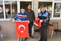 PAŞAKÖY - Paşaköy'den Afrin Operasyonuna Bayraklı Destek