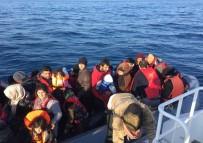 SOMALI - Yunan Adalarına Geçmeye Çalışan 108 Göçmen Yakalandı
