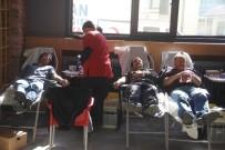 HASAN KESKIN - Zeytin Dalı Harekatı İçin Orman Müdürlüğü Çalışanlarından Kan Bağışı