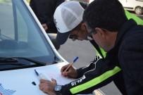 KURAL İHLALİ - Aliağa'da Sürücülere 1 Yılda 2 Milyon TL'lik Trafik Cezası