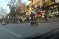 ULUBATLı HASAN - Ayağa Kalkarak Motosiklet Sürüp Telefonla Konuştu