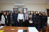 YÜZME KURSU - Aykut Yiğit Ortaokulu'ndan Başkan Dişli'ye Ziyaret