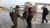 AHMET ERTÜRK - Ayvalık Limanı'ndaki Tatbikat Gerçeğini Aratmadı