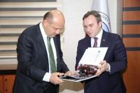 KAYYUM - Başbakan Yardımcısı Işık, Siirt Belediyesini Ziyaret Etti