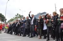 OLGUNLUK - Başkan Tuna, 'Zafer Yürüyüşü'ne Destek Verenlere Teşekkür Etti