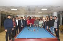 HÜSEYIN YAŞAR - Bilardo Şampiyonları Madalyalarını Aldı