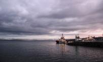 ÇANAKKALE BOĞAZı - Çanakkale Boğazı Gemi Trafiğine Kapatıldı