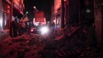 Çanakkale'de Tarihi Bina Çöktü