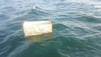 BUZDOLABı - Denizden Bu Kez Buzdolabı Çıktı