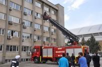 ANONIM - Dicle Elektrik'te Yangın Tatbikatı