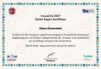 TEKNOPARK - Düzce Üniversitesi Ve Düzce Teknopark'tan İnovalig Başarısı