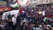 REFAH SINIR KAPISI - Gazze'de Abluka Karşıtı Gösteri Ve Ulusal Birlik Çağrısı
