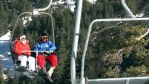 GRAFİKLİ - ANADOLU'nun KAYAK ZİRVELERİ - Köroğlu'nun Zirvesinde Kayak Keyfi