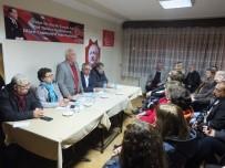 ALI DEVECI - İl Başkan Adayı Çankır, Nazilli Teşkilatını Ziyaret Etti