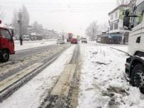 Kahramanmaraş'ın Kuzey İlçelerinde Kar Sevinci