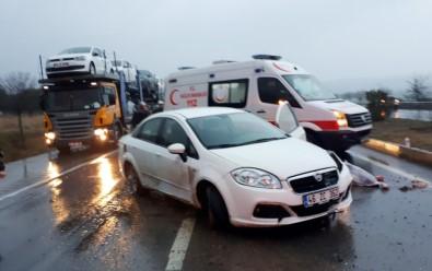 Kahramanmaraş'ta taziye dönüşü kaza: 1 ölü, 2 yaralı