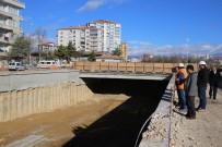 ERTUĞRUL ÇALIŞKAN - Karaman'da Larende Alt Geçidinde Çalışmalar Devam Ediyor