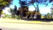 İSMAIL YAVUZ - Kaza Anını Cep Telefonuyla Kaydetmiş
