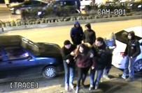 ÇARPMA ANI - Kaza Saniye Saniye Güvenlik Kameralarına Yansıdı