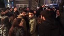 SIYAH ÇELENK - Konsolosluk Önündeki İzinsiz Gösteriye Polis Müdahalesi Açıklaması 11 Gözaltı