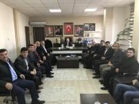 KARAYOLLARı GENEL MÜDÜRLÜĞÜ - Köy Muhtarları Başkan Karadağ'a Taleplerini İletti