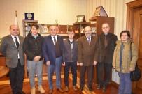 'Kuran'ın Genç Muhafızı' Ve 'Genç Bilali' Kaymakam Yüksel Ve Başkan Arslan'ı Ziyaret Etti