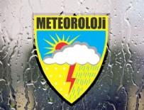 ŞİDDETLİ YAĞIŞ - Meteoroloji'den 4 il için şiddetli yağış uyarısı