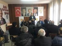 HACıKEBIR - Milletvekili Mustafa Şükrü Nazlı Çavdarhisar'da Yatırımları Yerinde İnceledi