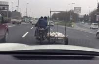 E5 KARAYOLU - Motosikletli Tehlike Saçtı