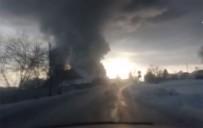 NOVOSIBIRSK - Rusya'da Depoda Yangın Açıklaması 10 Ölü