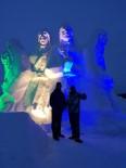 KAFKAS ÜNİVERSİTESİ - Sarıkamış'ta 90 Bin Şehidin Anısına Kardan Heykeller Yapıldı